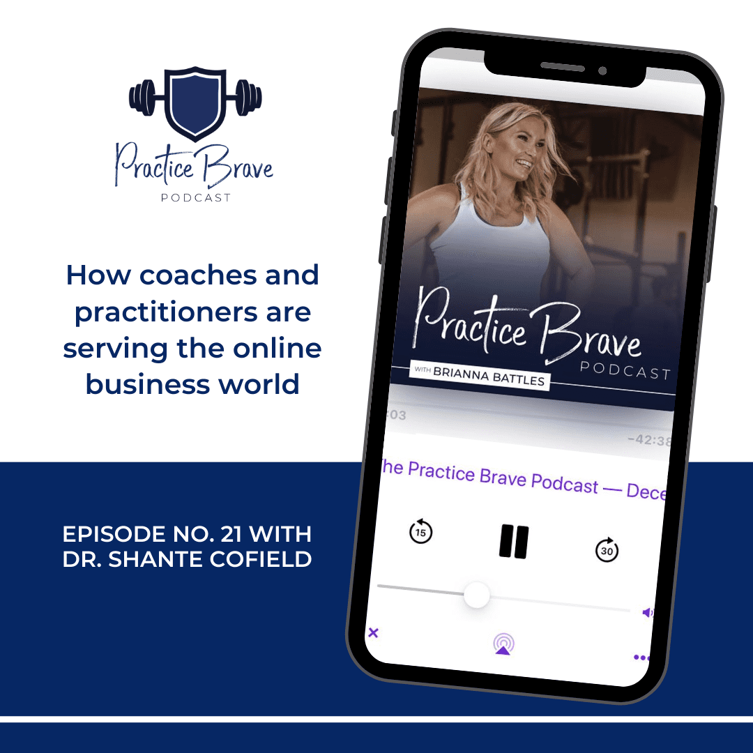 How coaches and practitioners are serving the online business world with Dr. Shanté Cofield