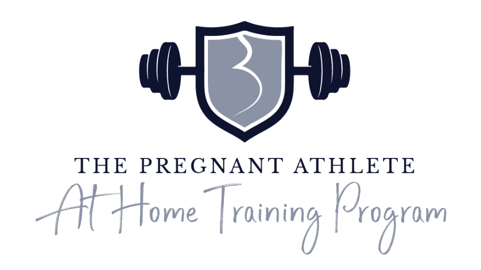 pregnant-athlete-at-home